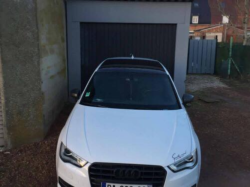Audi A1 Total Covering Blanc Rs Cover
