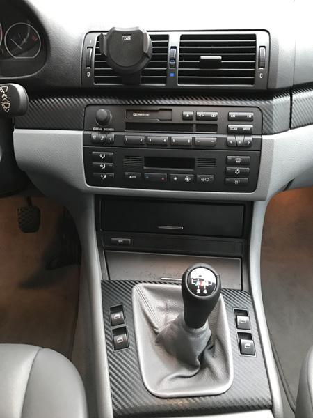 Covering intérieur carbone - BMW