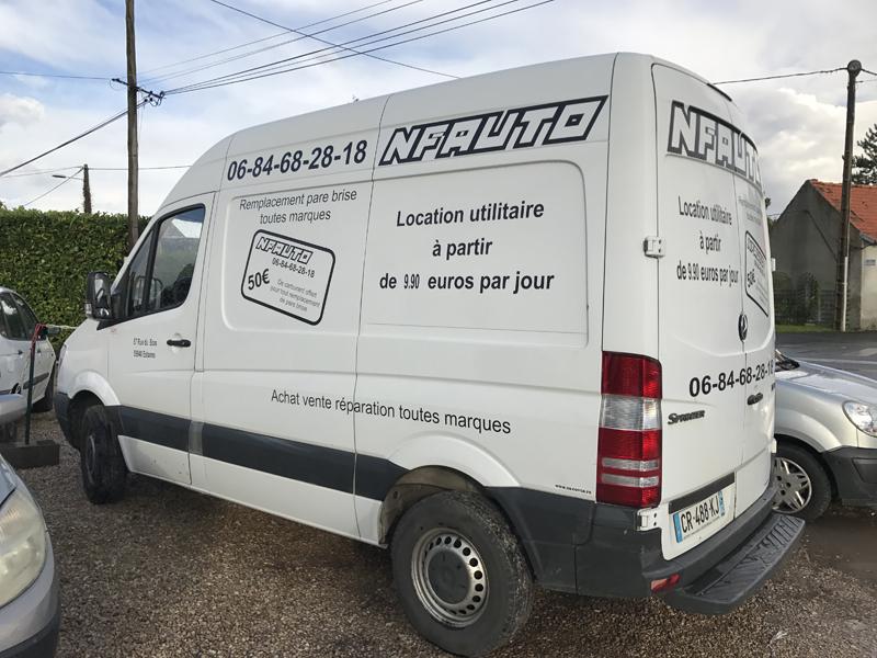 Mercedes Spinter - Marquage publicitaire