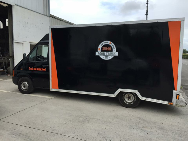 Food Truck - Total covering et marquage publicitaire