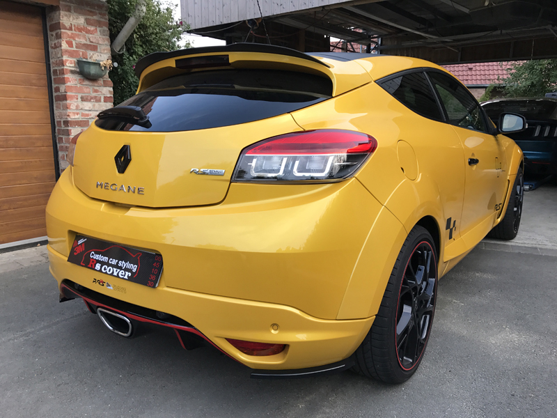 Covering carbone - Renault Megane RS