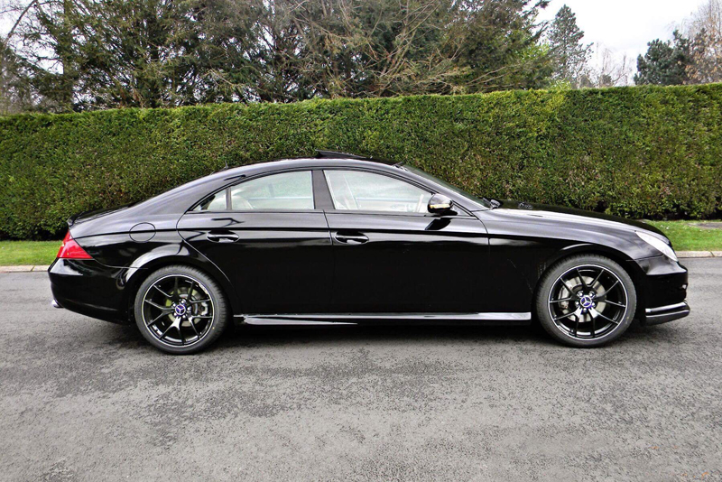 Total covering noir brillant - Mercedes CLS 550 AMG